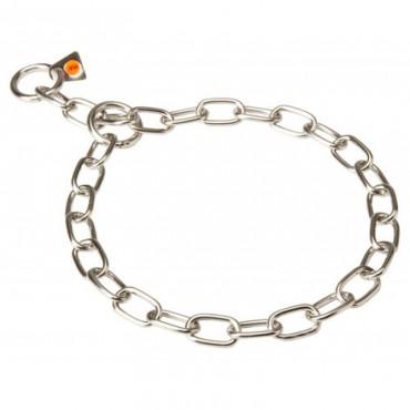Ошейник для собак Sprenger Long Link нержавеющая сталь 4 мм, 69 см (51641_069_55)