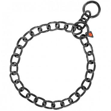 Ошейник для собак Sprenger Long Link, среднее звено, черная сталь