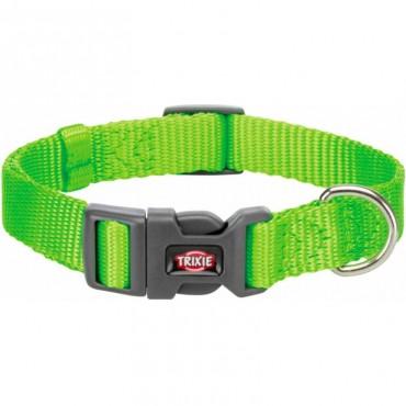 Ошейник для собак Trixie Premium нейлон ярко-зелёный