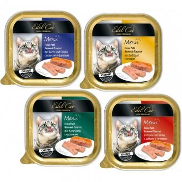 Паштет для кошек Edel Cat, 100 гр