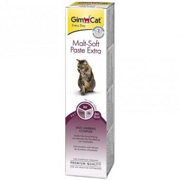 Паста для выведения шерсти у кошек GimCat Malt-Soft Extra