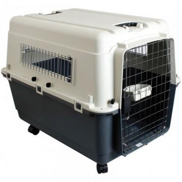 Переноска для собак Karlie-Flamingo Nomad Aviation Carrier IATA замок 60 х 90 х 74 см (513774)