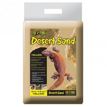 Песок желтый для рептилий Exo Terra Desert Sand Yellow 4,5 кг (PT3103)