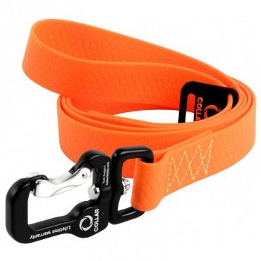 Поводок для собак Collar Evolutor оранжевый