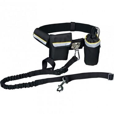 Пояс-сумка и поводок для бега с собакой Trixie Hands Free (1275)