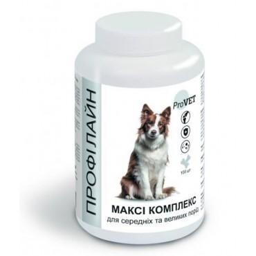 Витаминно-минеральная добавка для собак ProVET Профилайн Макси комплекс 100 табл (PR241882)