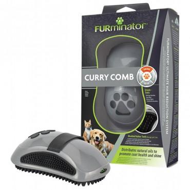 Расческа-щетка для кошек и собак Furminator NEW резиновая (691715)
