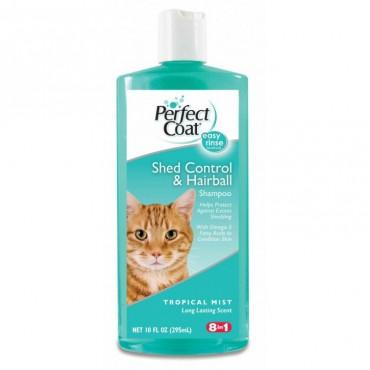 Шампунь для кошек против линьки и волосяных комков 8in1, 295 мл (680167 /0637)