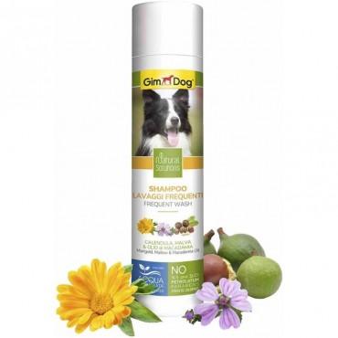 Шампунь для собак для частого использования GimDog Natural Solutions, 250 мл (G-2.504766)
