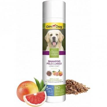 Шампунь для собак с длиной шерстью GimDog Natural Solutions, 250 мл (G-2.504735)