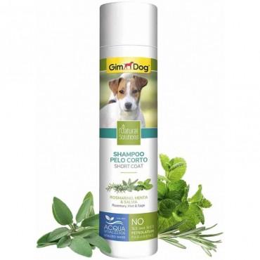 Шампунь для собак с короткой шерстью GimDog Natural Solutions, 250 мл (G-2.504742)