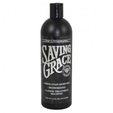 Шампунь для кошек и собак Chris Christensen «Saving Grace» 473 мл (для удаления запаха мочи)