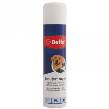 Спрей Bayer Bolfo от блох и клещей для кошек и собак 250 мл (91014)