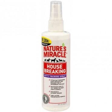 Спрей для приучения щенка к месту туалета 8in1 Nature's Miracle House Breaking, 237 мл (680309 /5765)