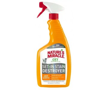 Спрей для удаления пятен и запахов от собак Nature's Miracle Set-In Stain Destroyer, с формулой активного кислорода