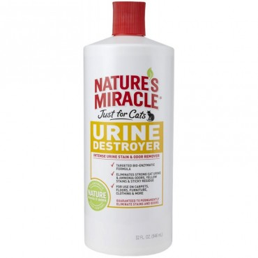 Средство для устранения запаха кошачьей мочи 8in1 Urine Destroyer, 946 мл (680067)