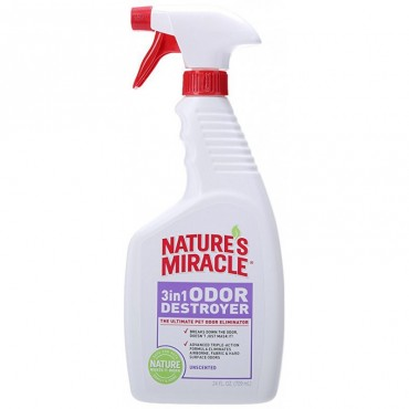 Средство для устранения запахов животных 3in1 Odor Destroyer без запаха, 710 мл (680194 /5451)