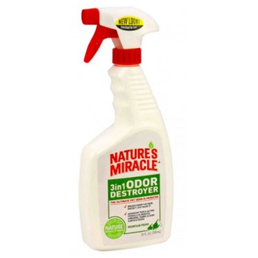 Средство для устранения запахов животных 8in1 Odor Destroyer с ароматом горной свежести, 710 мл (680196 /5453)