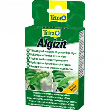 Средство против водорослей в аквариуме Tetra Algizit 10 табл (770386)