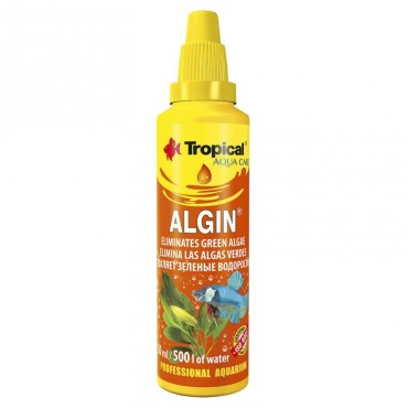 Средство против водорослей в аквариуме Tropical Algin, 50 мл (33032)