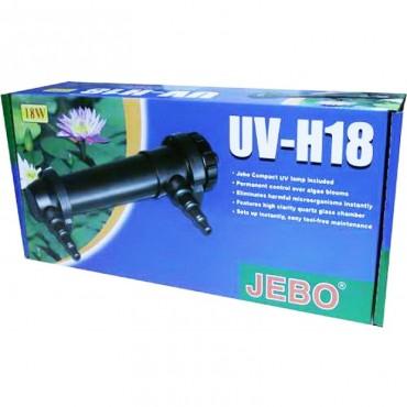 Стерилизатор для аквариума Jebo UV-H 18 Вт