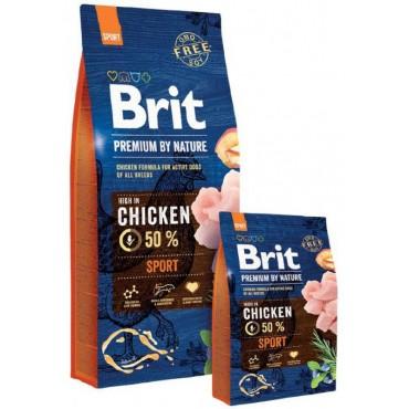 Сухой корм для активных собак Brit Premium Dog Sport