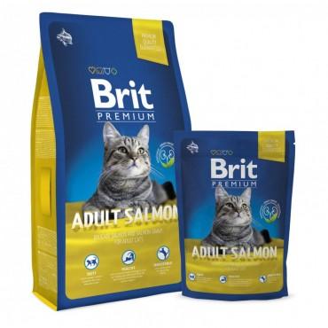 Сухой корм для кошек Brit Premium Cat Adult Salmon