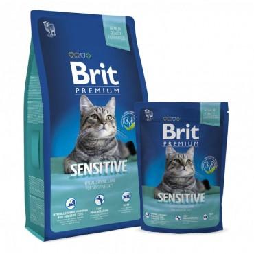 Сухой корм для кошек Brit Premium Cat Sensitive