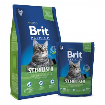 Сухой корм для кошек Brit Premium Cat Sterilized