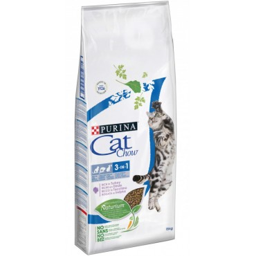 Сухой корм для кошек Purina Cat Chow Feline 3 in 1