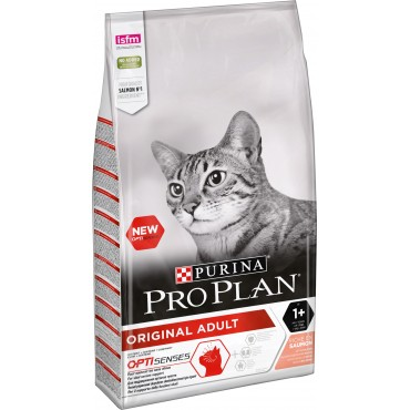 Сухой корм для кошек Purina Pro Plan ORIGINAL с лососем