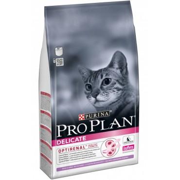 Сухой корм для кошек с чувствительным пищеварением Purina Pro Plan Delicate Turkey