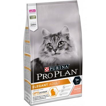 Сухой корм для кошек с эффектом выведения шерсти Pro Plan ELEGANT с лососем