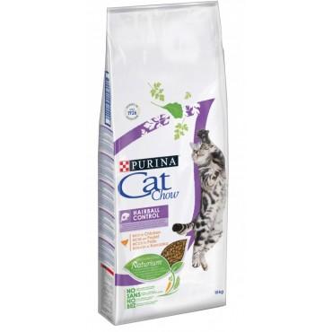 Сухой корм для кошек с эффектом вывода шерсти Purina Cat Chow Hairball Control