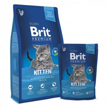 Сухой корм для котят Brit Premium Kitten