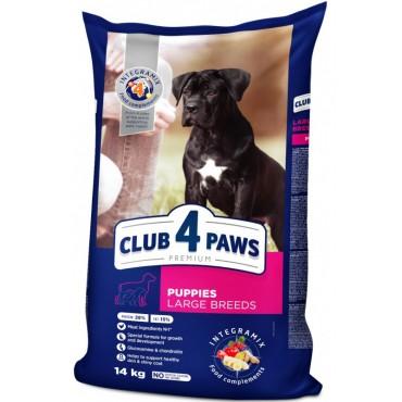 Сухой корм для щенков крупных пород Клуб 4 Лапы Premium