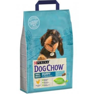 Сухой корм для щенков мелких пород Dog Chow Puppy Small Breed с курицей