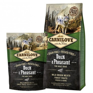Сухой корм для собак Carnilove Duck and Pheasant