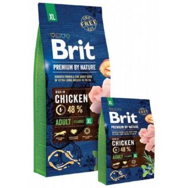 Сухой корм для собак гигантских пород Brit Premium Dog Adult XL