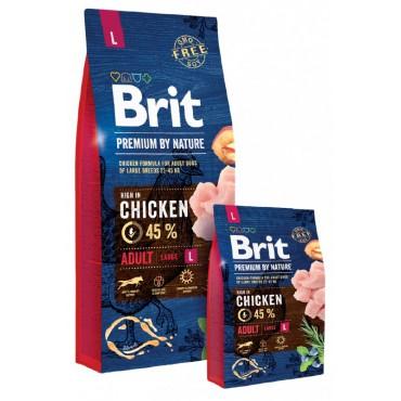 Сухой корм для собак крупных пород Brit Premium Dog Adult L