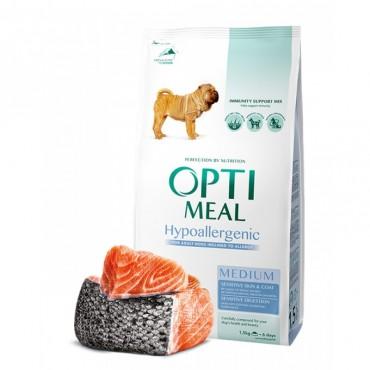 Сухой корм для собак средних и крупных пород Optimeal Dog Adult Medium Hypoallergenic