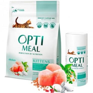 Сухой корм для котят Optimeal Kittens