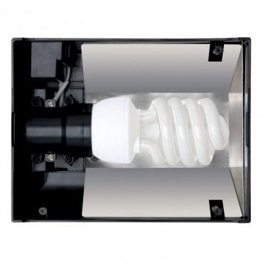 Светильник для террариума Exo Terra Compact Top E27, 20 x 9 x 15 см (PT2224)