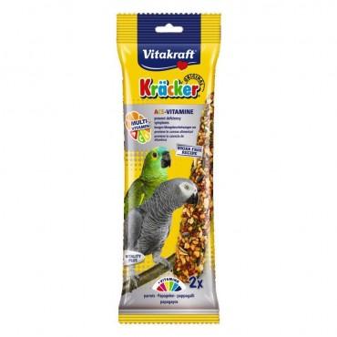 Лакомство для крупных попугаев Vitakraft Kracker Original Multi-Vitamin 180 г / 2 шт (мультивитамин) (21198)
