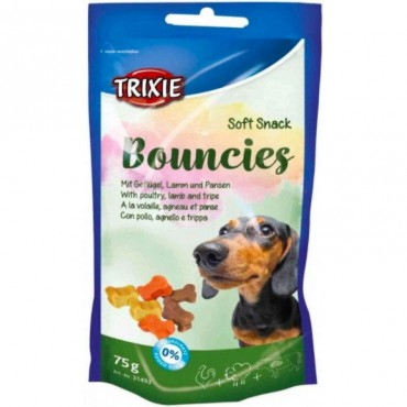 Витаминное лакомство для собак Trixie Bouncies ягненок, желудок 75 гр (31493)