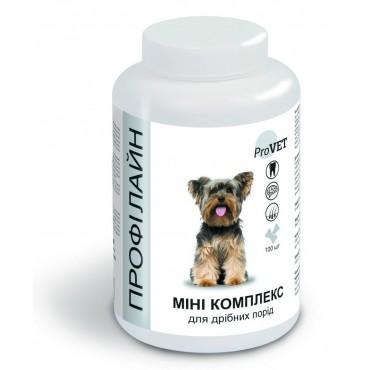 Витамины для собак малых пород ProVET Профилайн Мини комплекс 100 табл, 123 г (PR241881)