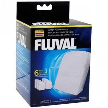 Вкладыш волокнистый в аквариумные фильтры Fluval 304/305/306, 404/405/406, 6 шт (A244)
