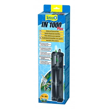 Внутренний фильтр для аквариума 120-200 л Tetra IN 1000 Plus (607675)