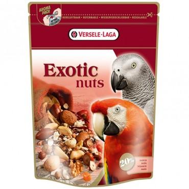 Зерновая смесь корм для крупных попугаев, с орехами Versele-Laga Exotic Nuts 0.75 кг (217825)