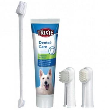 Зубная паста с щеткой для собак Trixie (2561)